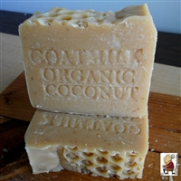 Fresh Goat and Coconut Milk Soap all Natural, Handmade with Honey And Oatmeal Soap Bar Gentle Exfoliate