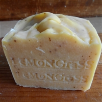 Lemongrass Soap Artisan Aged Limited Edition Large Bar -- 12 oz