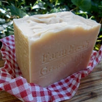 Aged Large Goat's Milk Soap Bar All Natural Farm Fresh Milk  12oz.