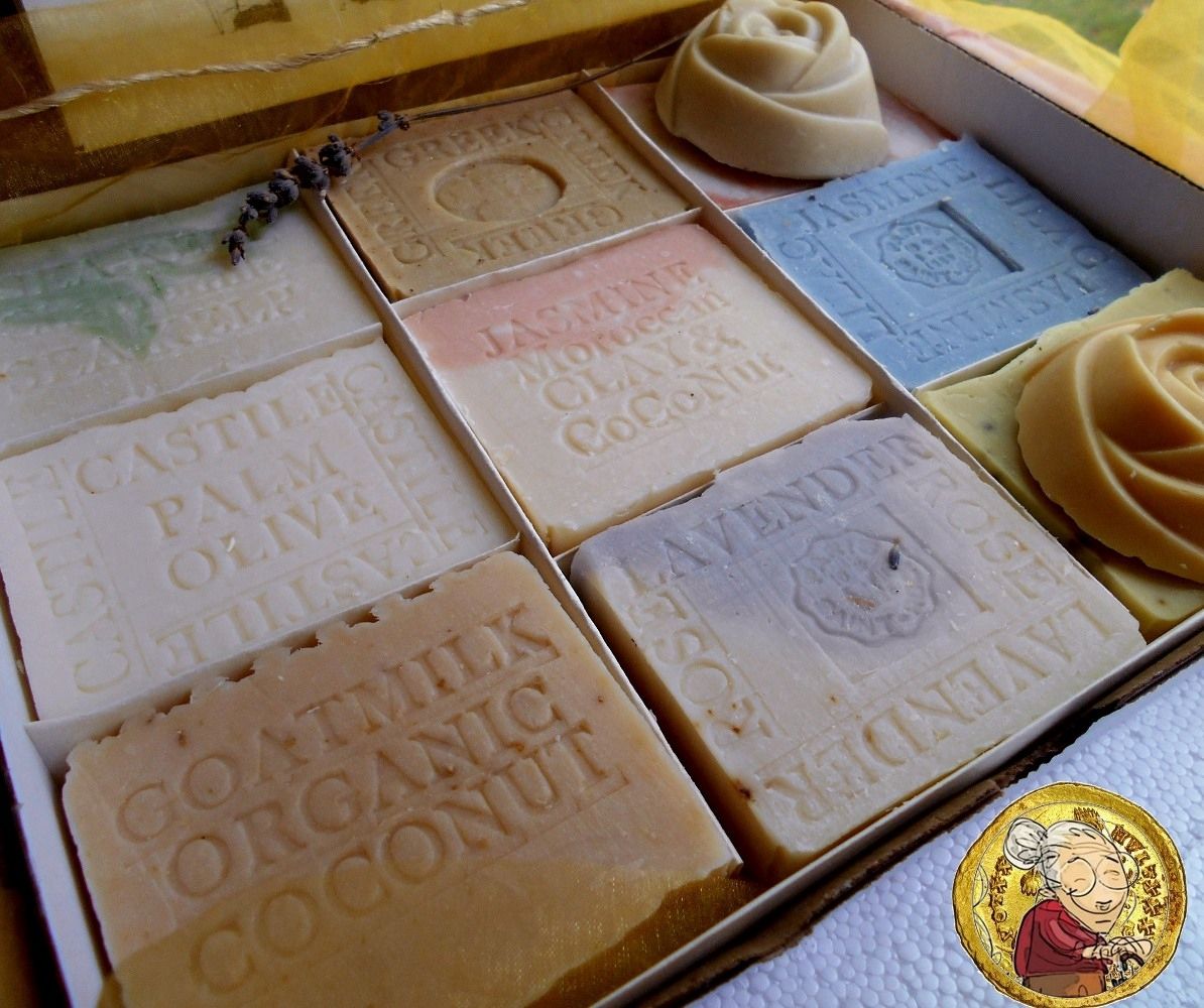 All Natural Mother And Baby Twelve Piece Artisan Soap Gift Set