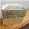 Peppermint Soap Aged with Sea Clay  ( Large Bar ) 11 oz.  Limited Edition