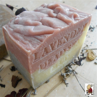 Natural Provence Lavender Soap with Dead Sea Mud  And Rose Clay Limited Edition