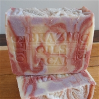 Natural Soap Brazilian Oils, Almond , Acai and Butter  Soap -  Oils  From The Rain Forest For Skin Care