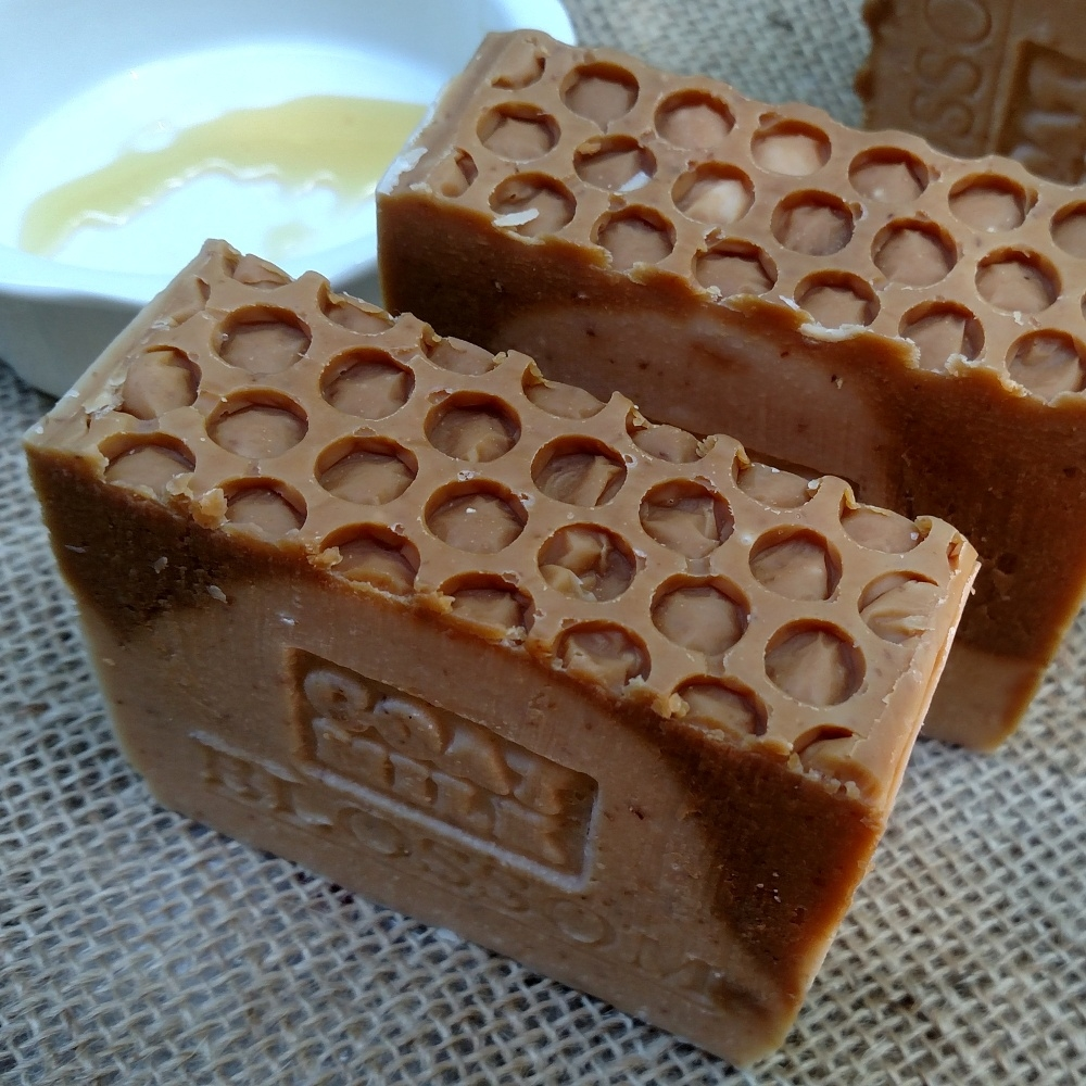 Image result for Oatmeal and Honey Soap