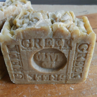 All Natural  Greek Olive Oil soap, artisan handmade  made skin care bar ,