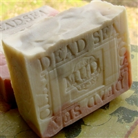 Handcrafted Natural Artisan French  Lavender with Dead Sea Mud and French Rose Clay Natural Soap