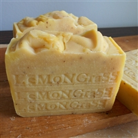 Fresh All Natural Artisan Thai Lemongrass Soap with Cocoa Butter Skin Care Soap