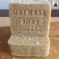 Handmade all natural Oatmeal Soap with Hazelnuts