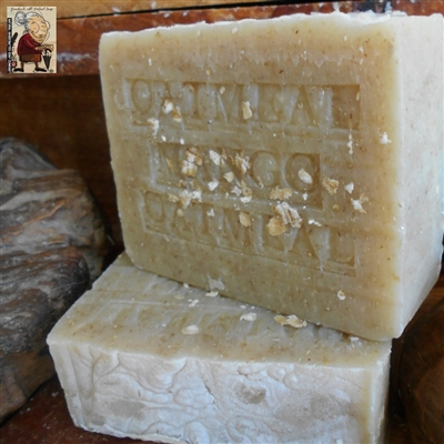 Natural Ground Fresh Organic Oatmeal Soap with Mango Butter