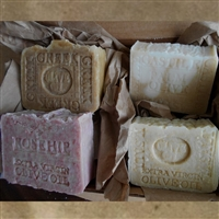 Four Organic Olive Oil Gift Set Soaps
