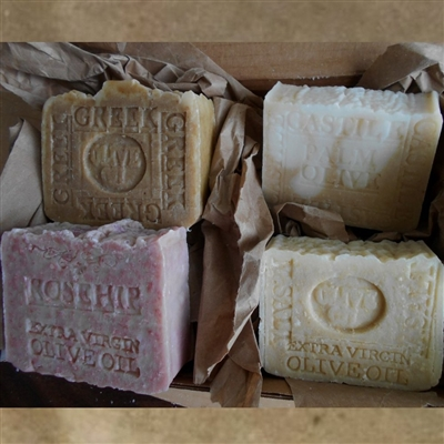 Four Bar Gift Set Organic Olive Oil Soaps