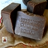 Natural Fresh Ground Coffee Brazilian Coffee Scrub Soap with Cocoa Butter