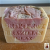 Aged Soap African Grapefruit with Moroccan and Brazilian Red Clay 14 oz.