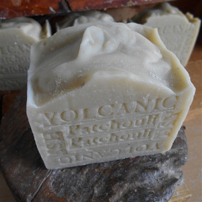 Artisan Soap Aged Volcanic Ash - Patchouli Large Bar 14 oz