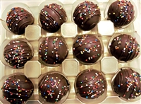 Triple Chocolate Cake Truffles