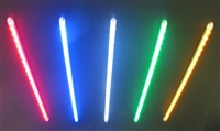 Single color Half inch spacing Flex Array, available in Multiple Colors