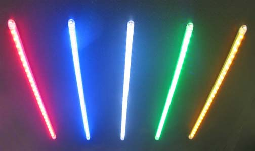 Single color Half inch spacing Flex Array available in Multiple Colors & Flexible Motorcycle Accent LED Light Array Kit With 1/2-Inch Spacing azcodes.com