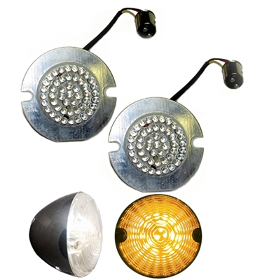Direct Replacement  for flat style turn signals