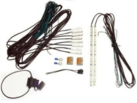 Roachez Deluxe LED and install kit with 2-6section roachez & 8 1 section roachez.