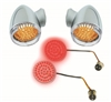 Red Harley-Davidson Bullet Style Turn signals