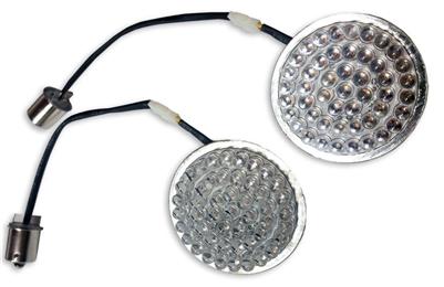 LED Turn Signal Inserts Amber 1157 Bullet Radiantz 9500-27