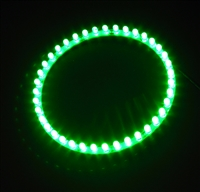 39 LED Angel Eyes Circle LED Light - Devil Eyez (120mm)