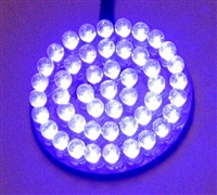 UV Purple 1.85 round cluster