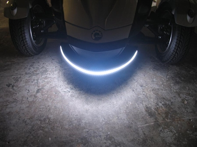 Spyder white DRL light