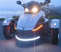 Can-Am Spyder Front Side Driving/Turn Signal LED Light - Evil Fangz