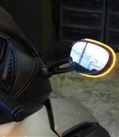 Rear View Mirror LED Light - Evil Turnz