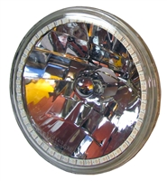 Headlight with RGB halo