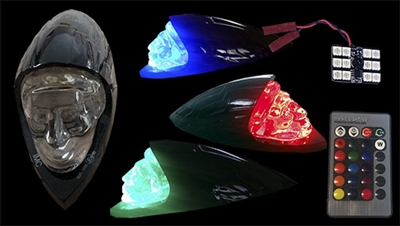 Indian Motorcycle Front Fender Ornament LED Light