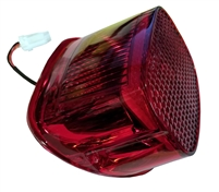 All Red Square back Taillight