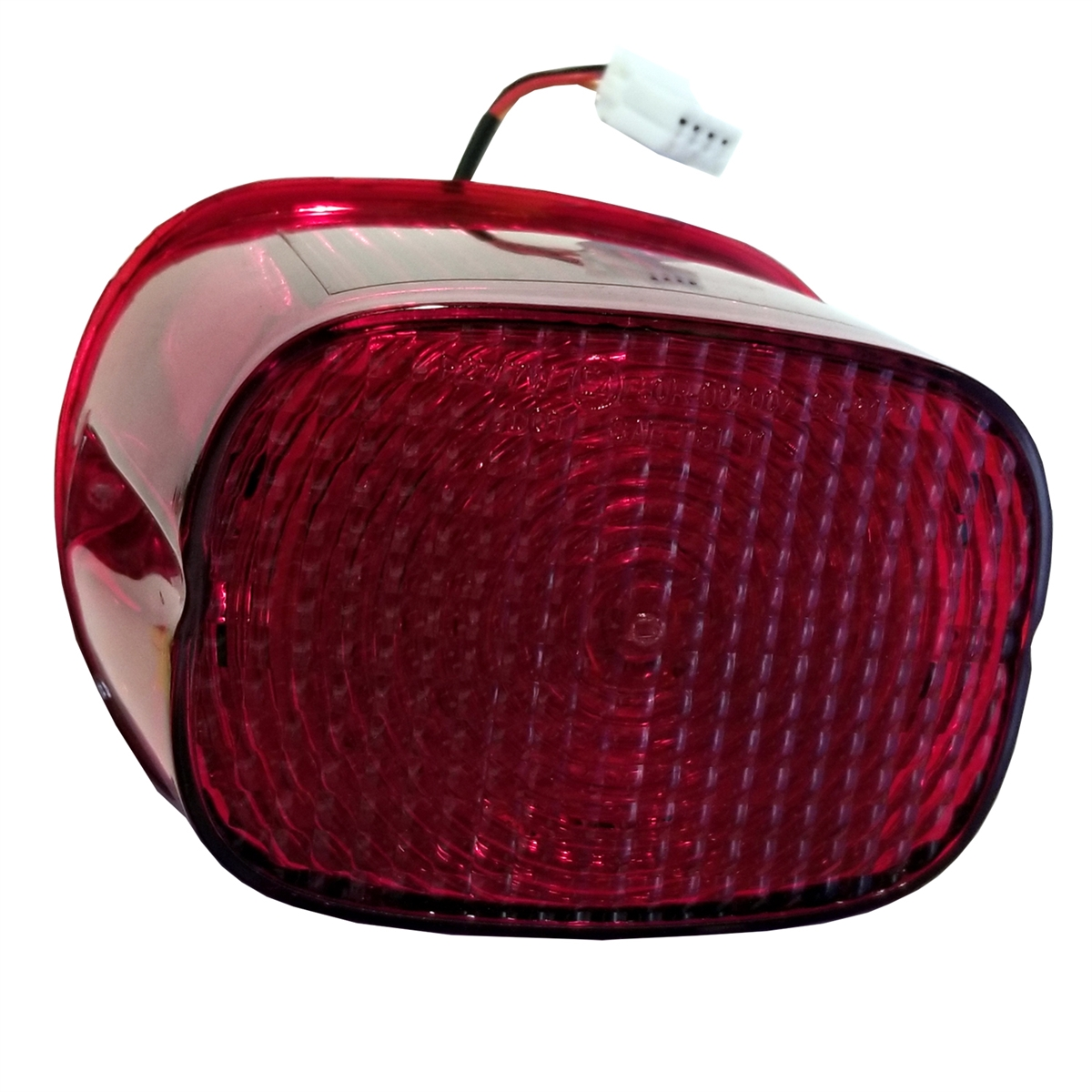 Harley-Davidson Stock All Red Lens Taillight LED Upgrade