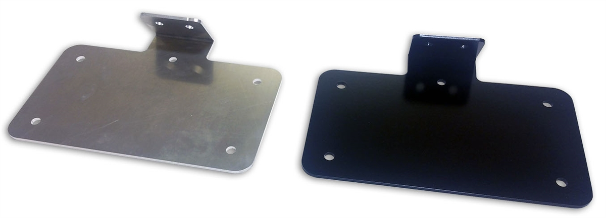 Aluminum Motorcycle License Plate Holder With Led Light Plate Frame