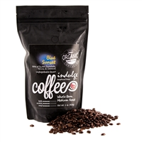 Blue Sunset Medium Roast Whole Bean Organic Coffee