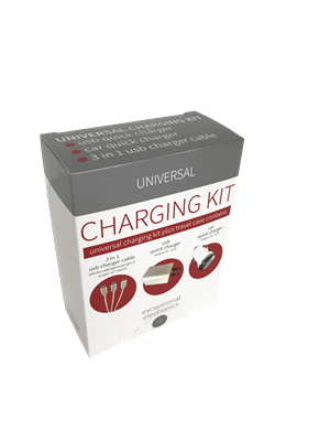 Universal Charger Tech Kit Small - 4 items