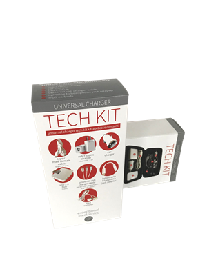 Universal Charger Tech Kit Large - 8 items