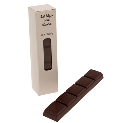 Belgian Milk Chocolate Bar 1.5 oz - Box