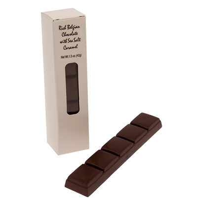 Belgian Milk Chocolate Bar with Caramel 1.5 oz - Box