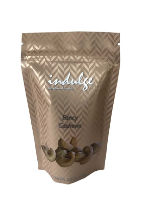 Fancy Cashews In Resealable Snack Pouch 3 oz