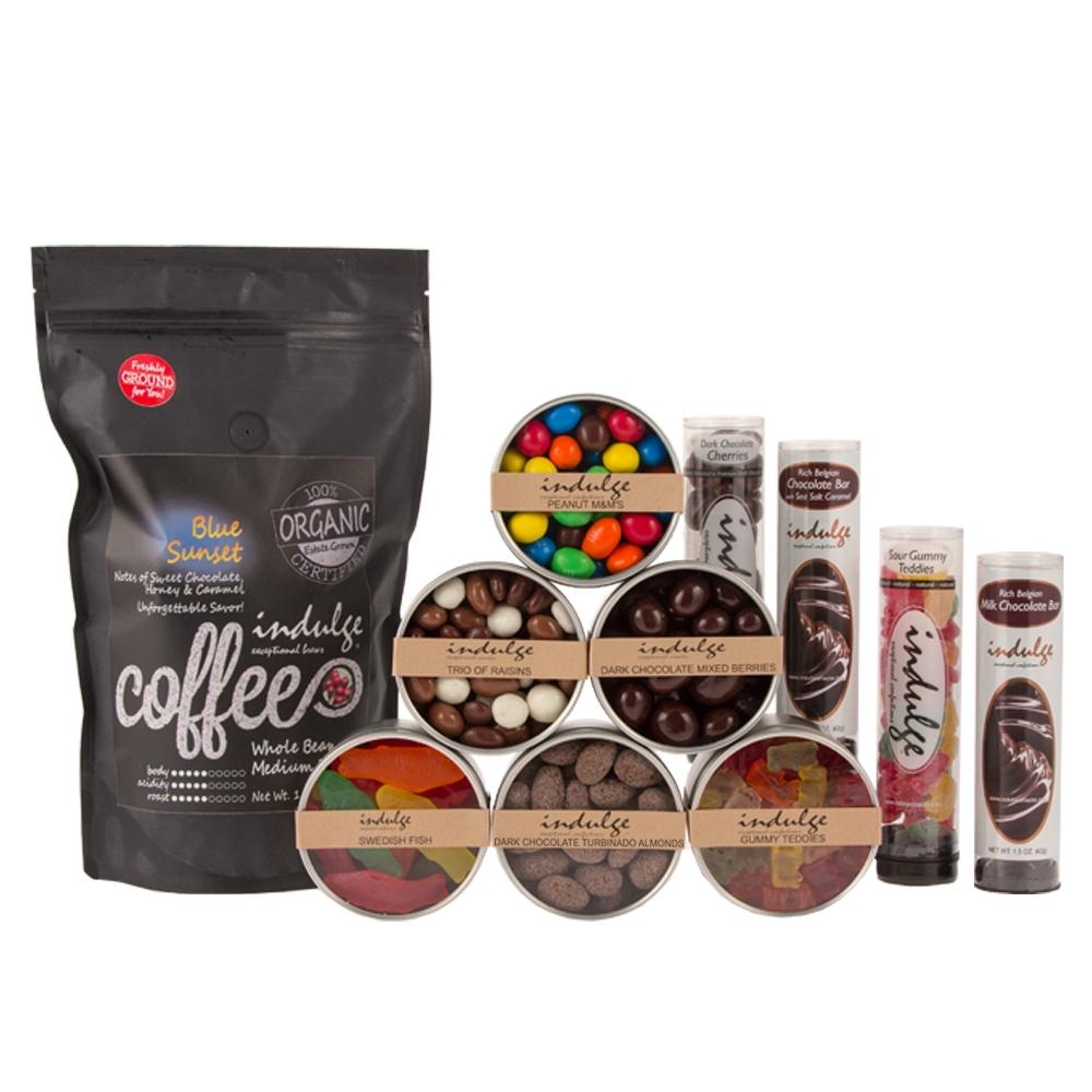 Chocolate Lovers Kids Birthday Gift Basket