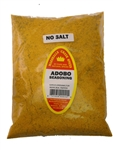 Family Size Refill Marshalls Creek Spices Adobo No Salt Seasoning, 44 Ounce