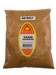 Family Size Refill Marshalls Creek Spices Cajun No Salt Seasoning, 44 Ounce