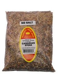 Canadian Steak No salt Seasoning 44 Ounce, Refill