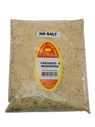 Fantastic 4 No Salt Seasoning 40 Ounce, Refill