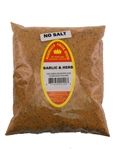 Family Size Refill Marshalls Creek Spices Garlic And Herb No Salt Seasoning, 44 Ounce