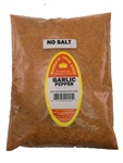 Family Size Refill Marshalls Creek Spices Garlic Pepper Blend No Salt Seasoning, 44 Ounce