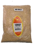 Family Size Refill Marshalls Creek Spices Lemon Pepper No Salt Seasoning, 32 Ounce
