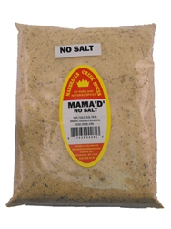 Mama D No Salt Seasoning, 44 Ounce, Refill